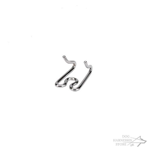 Links for Chrome Plated Dog Pinch Collar Herm Sprenger 2.25 mm
