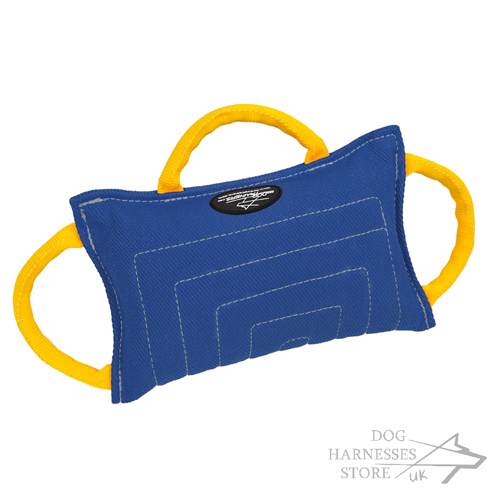 Dog Training Pad of French Linen Equipped with 3 Handles - Click Image to Close