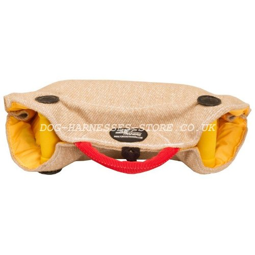 Puppy Training Pad Jute, Dog Dummy for Basic Bite Training