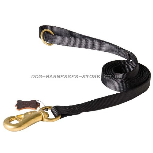 Police Dogs UK Dog Tracking Leash, Nylon Lead Extra Strong