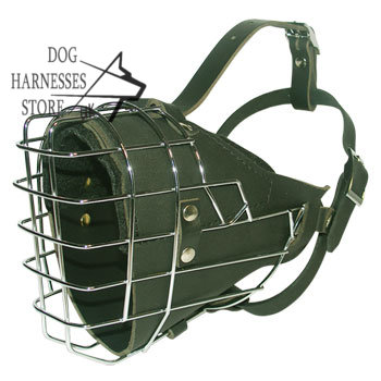 Basket Padded Dog Muzzle