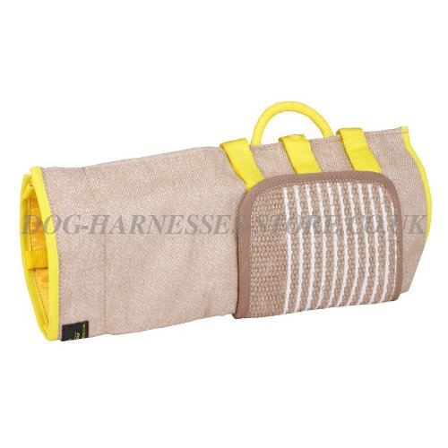 Protection Sleeve Cover of Jute for Dog Bite Training, Removable