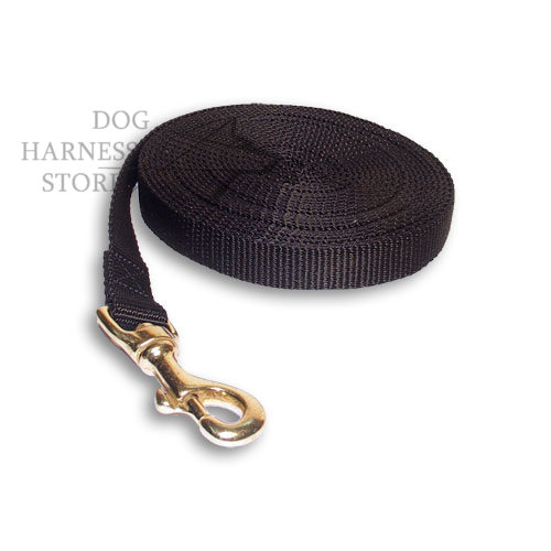 Traditional Nylon Dog Leash for Training and Tracking, Long Lead