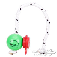 Magnetic Dog Training Ball Mini with MAXI Power-Clip Top-Matic