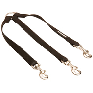 Triple Dog Lead Coupler, Walking Leash of Nylon