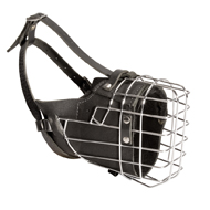 NEW Fully Padded Hard Working Dog Wire Muzzle