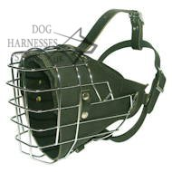 NEW Fully padded hard dogs working wire muzzle