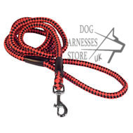 Heavy-Duty Cord Nylon Dog Leash 10 mm, UK Strong Lead