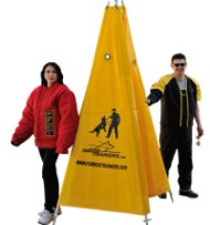 Schutzhund Blind Double with Inner Middle Cloth for Dog Training