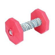 Schutzhund IPO Dumbbell with Red Weight Plates, 650 g