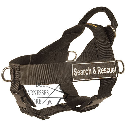 Search and Rescue  Nylon Harness for Training