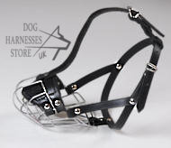 Wire Basket Dog Muzzle For Small Dogs