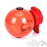 Solid Plastic Dog Ball Top-Matic with MAXI Power-Clip