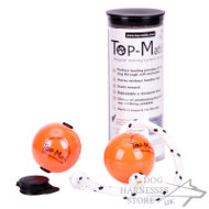 Top-Matic Profi-Set of 2 Magnetic Balls and a Clip for Training