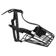 Wire Basket Cage Dog Muzzle with Antirust Polymer Cover
